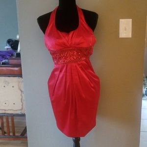 Red prom, wedding, special occasion dress